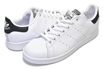 【アディダススタンスミス】adidasSTANSMITHWHITE/BLACK【レディーススニーカー白金ホワイトブラックスタンスミスウィメンズメンズユニセックス靴】