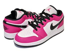 お得な割引クーポン発行中!!【送料無料 ナイキ エアジョーダン 1 ロー GG】NIKE AIR JORDAN 1 LOW GG rush pink/rush pink-white スニーカー レディース ウィメンズ ガールズ エア ジョーダン 1 ピンク ホワイト AJ