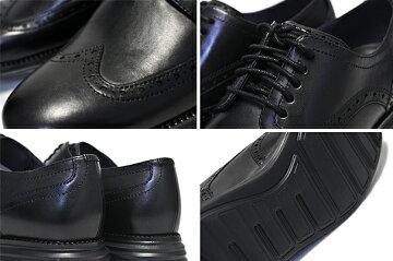 お得な割引クーポン発行中!!【あす楽対応!!】【送料無料コールハーンオリジナルグランドショートウィング】COLEHAANORIGINALGRANDSHWNGblack/black【ビジネスシューズカジュアルメンズ靴革】