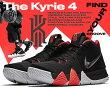 """【ナイキカイリー4】NIKEKYRIE4EP""""41FORTHEAGES""""black/darkgrey【スニーカーブラックレッドバスケットボールシューズメンズカイリー・アービングKyrieIrvingバッシュ】"""