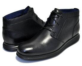 お得な割引クーポン発行中!!【 コールハーン】COLE HAAN ORIGINAL GRAND CHKKA BLACK/BLACK ワイズMEDIUM 【メンズ 靴 ビジネスシューズ カジュアル チャッカ ビジネス ブーツ】