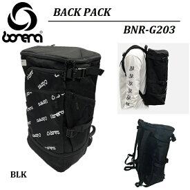 【 BONERA / ボネーラ 】《 2020 春夏 新作 》バックパック BNR-G203 backpack BAG 合宿 林間学校 バッグ リュックサック カバン 鞄 BLACK BLK ブラック 黒 練習着 ユニフォーム ウェア サッカー フットボール フットサル フィットネス SOCCER FOOTBALL FUTSAL