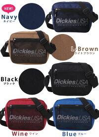 ディッキーズショルダーバッグDickies17912000斜めがけバッグワンショルダーサコッシュレディースメンズ黒サブバッグ