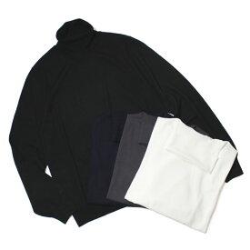 【SALE】秋冬 ONES ( ワンズ ) / Loro Piana / WISH SUPER160's / ウール ハイゲージ タートルネック セーター【ホワイト/ネイビー/ブラック/チャコール】【送料無料】