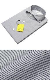 ジャンネット / GIANNETTO / セミワイドカラー シャツ / コットン グラフチェック柄【ネイビー】【SALE】