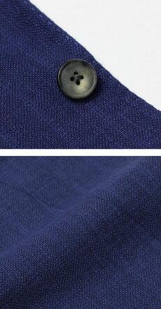 【国内正規品】S/S新作BOGLIOLI(ボリオリ)/K.JACKET/リネンシルクウール3釦段返りシングルジャケット【ブルー】【送料無料】