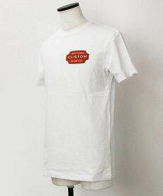 【国内正規品】S/S新作DeusexMachina(デウスエクスマキナ)/コットンロゴTシャツ【ホワイト】【送料無料】