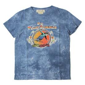 【均一SALE】【5000】春夏 REMI RELIEF ( レミレリーフ ) / インディゴ タイダイ スペシャル Tシャツ【インディゴ】【送料無料】