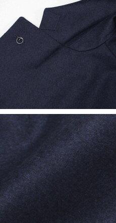 【国内正規品】F/W新作L.B.M.1911(エルビーエム1911)/JACKSLIM(ジャックスリム)/ウールサキソニー2B2パッチジャケット【ネイビー】【送料無料】