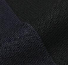 【国内正規品】F/W新作LARDINI(ラルディーニ)/ウールピークドラペルニットジャケット(金ボタン)【ネイビー/ブラック】【送料無料】
