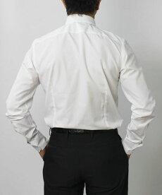 【国内正規品】F/W新作G.Pasini(ガブリエレパジーニ)/コットンブロード(スカルピン付き)ピンホールシャツ【ホワイト】【送料無料】