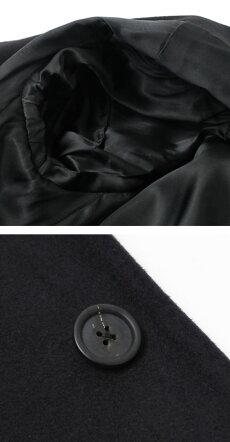 【国内正規品】F/W新作LARDINI(ラルディーニ)/ウール3釦段返りシングルチェスターコート【キャメル/ネイビー/ブラック】【送料無料】
