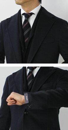 【国内正規品】F/W新作BARBA(バルバ)/カシミヤ100%チェスターコート【ライトベージュ/ネイビー】【送料無料】