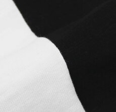 F/W新作ORIGINALVINTAGESTYLE(オリジナルヴィンテージスタイル)/コットンジャージーハイネックロングスリーブTシャツ【ホワイト/ブラック】【送料無料】