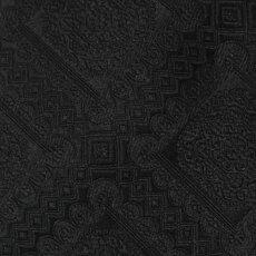 【国内正規品】F/W新作G.Pasini(ガブリエレパジーニ)/シャドゥ幾何学柄シルクタイ【ブラック】【送料無料】