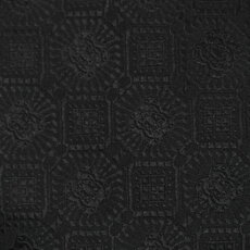 【国内正規品】F/W新作G.Pasini(ガブリエレパジーニ)/幾何学柄ジャカードシルクタイ【ブラック】【送料無料】
