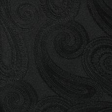 【国内正規品】F/W新作G.Pasini(ガブリエレパジーニ)/ペイズリー柄ジャカードシルクタイ【ブラック】【送料無料】
