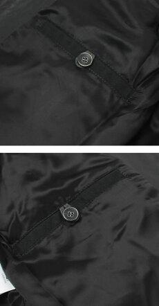 【国内正規品】F/W新作EMMETI(エンメティ)/ANDREA/中綿入りレザーシングルライダースジャケット【グレーグリーン】【送料無料】