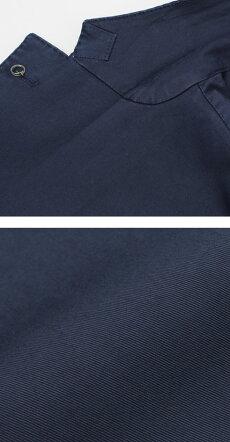 【国内正規品】S/S新作L.B.M.1911(エルビーエム1911)/JACKSLIM(ジャックスリム)/コットンストレッチ2B2パッチジャケット【ネイビー】【送料無料】