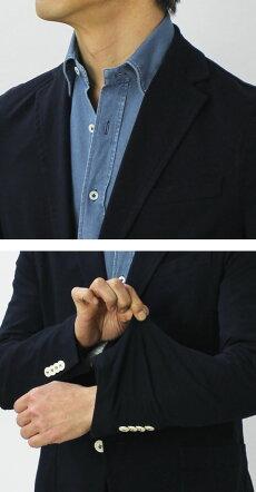 【国内正規品】S/S新作CIRCOLO1901(チルコロ1901)/コットンライトウェイトジャージージャケット【ネイビー】【送料無料】