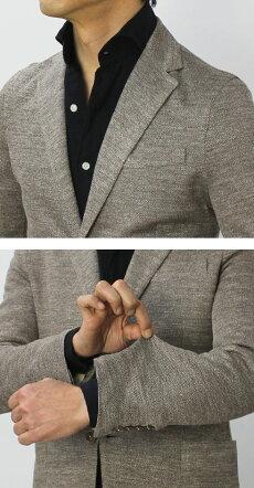 【国内正規品】S/S新作CIRCOLO1901(チルコロ1901)/リネンジャージージャケット【ライトブラウン】【送料無料】