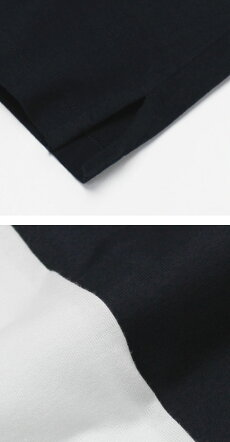【国内正規品】S/S新作Cruciani(クルチアーニ)/コットンシルケット加工クルーネックTシャツ【ホワイト/ネイビー】【送料無料】