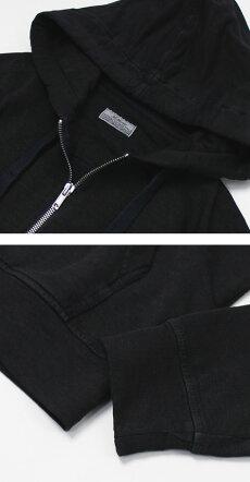 S/S新作ORIGINALVINTAGESTYLE(オリジナルヴィンテージスタイル)/リネンコットンフーデットパーカー【オフホワイト/ネイビー】【送料無料】