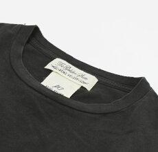 新作REMIRELIEF(レミレリーフ)/HOMOVANAスペシャル加工Tシャツ【オフホワイト/ブラック】【送料無料】