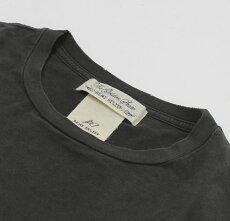 新作REMIRELIEF(レミレリーフ)/Rスペシャル加工Tシャツ【マスタード/ブラック】【送料無料】