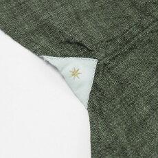 S/S新作BAGUTTA(バグッタ)/JOHNNYGL09064/製品染めリネンオープンカラーシャツ【カーキ】【送料無料】