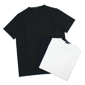 【国内正規品】【SALE 30】S/S 新作 ZANONE ( ザノーネ ) / アイスコットン Vネック Tシャツ【0001.ホワイト/0542.ネイビー/0015.ブラック】【送料無料】