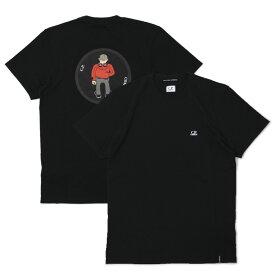 【国内正規品】【SALE 30】S/S 新作 C.P.COMPANY ( シーピーカンパニー ) / 06CMTS193A / コットン プリント Tシャツ【ブラック】【送料無料】