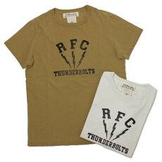 新作REMIRELIEF(レミレリーフ)/RFCスペシャル加工Tシャツ【オフホワイト/マスタード】【送料無料】