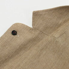 ラルディーニ/LARDINI/シャツジャケット/リネン2釦2パッチ/AMAJ-EIC1196【ライトベージュ/ブラウン】