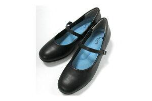 婦人靴 軽量防水パンプス BT602(ビュース)ストラップタイプ