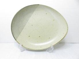 【未使用展示品】 天草 丸尾焼 カレー皿 大 29cm ○YR-12796○