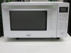 【中古品】 Haier ハイアール 電子レンジ 18L JM-FH18G 庫内フラット 2020年製 ○YR-13405○
