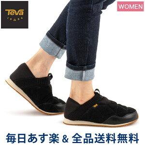 【GWもあす楽】[全品送料無料] テバ TEVA スリッポン レディース エンバーモック シェアリング W Ember Moc Shearling スニーカー 靴 シューズ 1103271 アウトドア 防寒