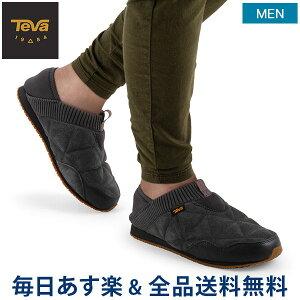 [全品送料無料] テバ TEVA スリッポン メンズ エンバーモック シェアリング M Ember Moc Shearling スニーカー 靴 シューズ 1103239 アウトドア 防寒