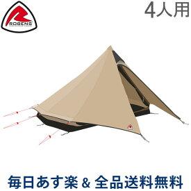 [全品送料無料]ローベンス Robens テント フェアバンクス 4人用 アウトバック シリーズ 130143 Tents Fairbanks キャンプ アウトドア 大型 ティピー あす楽