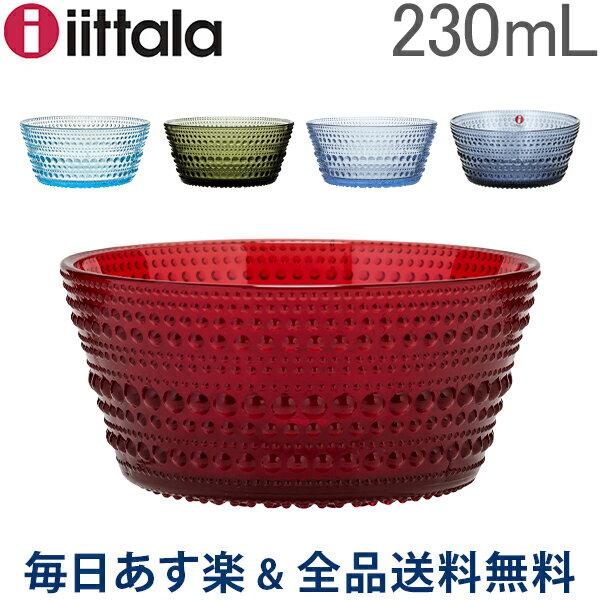 [全品送料無料] イッタラ iittala カステヘルミ ボウル 230mL 北欧 ガラス Kastehelmi Bowl フィンランド インテリア 食器 キッチン 食洗器対応