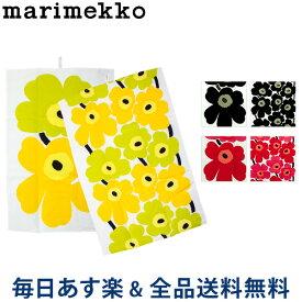 [全品送料無料] マリメッコ Marimekko ティータオル 2枚セット キッチンタオル 70×47cm ウニッコ 066943 Kitchen UNIKKO TEA TOWEL 2PCS 北欧雑貨 おしゃれ かわいい