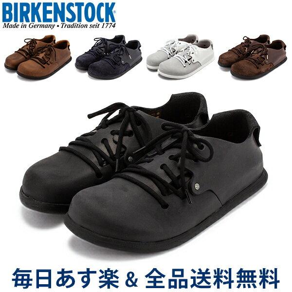 [全品送料無料] ビルケンシュトック BIRKENSTOCK モンタナ MONTANA ビルケン シューズ レザー EVA 細幅 普通幅 メンズ レディース 靴 本革