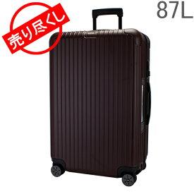 赤字売切り価格[全品送料無料] リモワ RIMOWA サルサ 87L スーツケース キャリーケース キャリーバッグ 811.73.14.5 Salsa 電子タグ 【E-Tag】