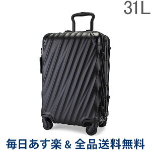 [全品送料無料] トゥミ TUMI スーツケース 31L 4輪 19 Degree Aluminum インターナショナル・キャリーオン 036860MD2 マットブラック キャリーケース キャリーバッグ あす楽