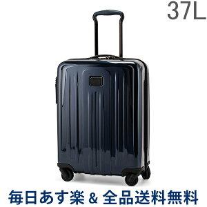 【GWもあす楽】[全品送料無料] トゥミ TUMI スーツケース 37L 4輪 機内持ち込み インターナショナル スリム 4ウィールキャリーオン 124854-T176 エクリプスブルー TUMI V4 あす楽