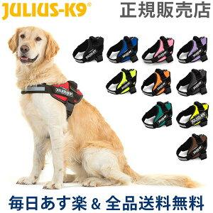 [全品送料無料]ユリウスケーナイン Julius-K9 IDC パワーハーネス 中型犬 大型犬 Size 0 / 1 / 2 / 3 胸囲58 〜115cm 犬用 ハーネス 犬 散歩 Powerharness