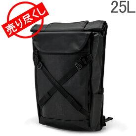 【あす楽】 [全品送料無料] 赤字売切り価格クローム Chrome バックパック リュック 25L ブラーボ 2.0 BG-190 ブラックローム Bravo 2.0 Black Chrome メンズ レディース 通勤 通学 ロールトップ バッグ
