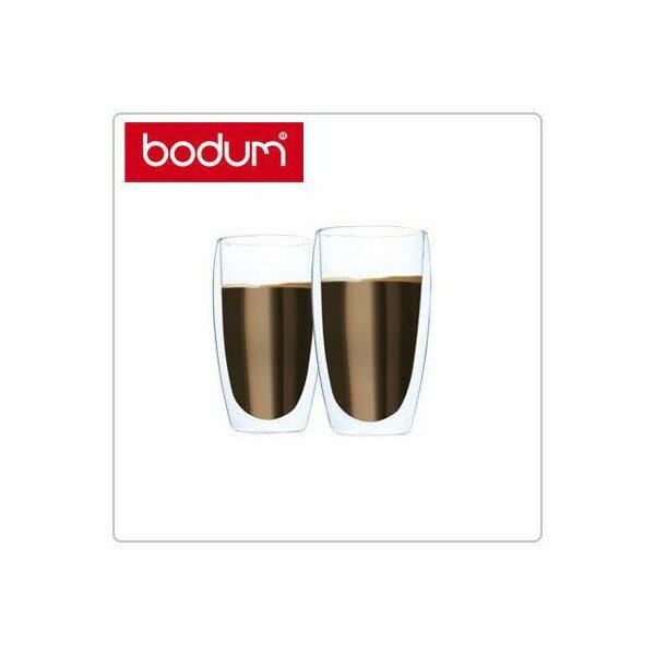 [全品送料無料]Bodum ボダム パヴィーナ ダブルウォールグラス 2個セット 0.45L Pavina 4560-10US Double Wall Thermo Tall Drink Glass set of 2 クリア 北欧