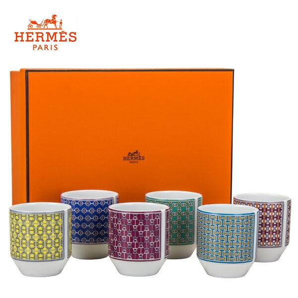 [全品送料無料]エルメス Hermes タイ・セット ゴブレット 6個セット タンブラー 40783 TIE SET Set of 6 Tumbler カップ 食器 プレゼント 新生活